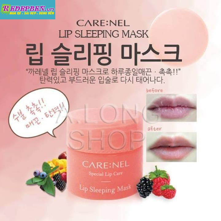 mat_na_ngu_moi_mini_size_carenel_lip_sleeping_mask
